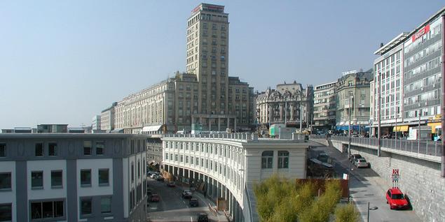 Immeuble commercial - rue de Genève 2-8
