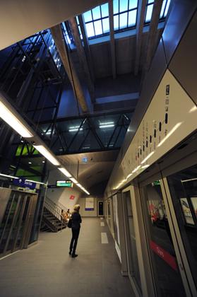 Station Ours - Métro m2