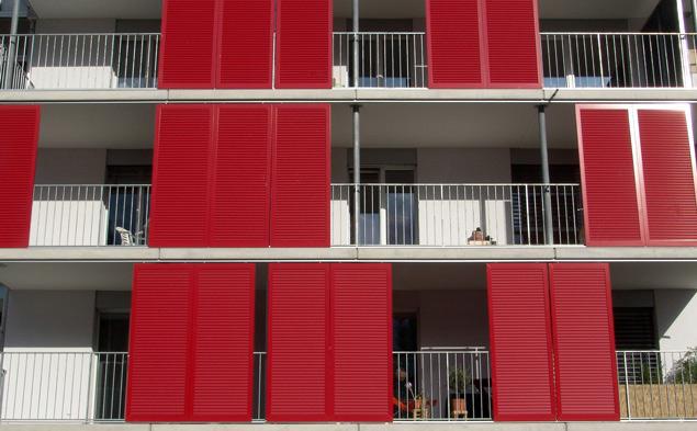 Les Laurelles A, immeubles d'habitations