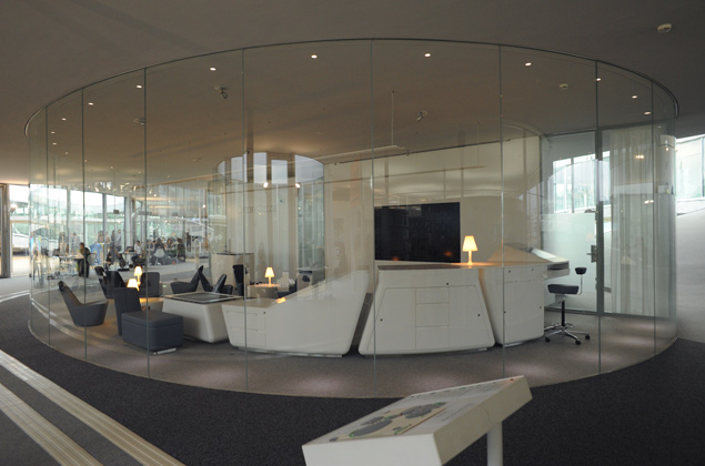 Projets >> ARCHITRAM architecture et urbanisme sa - Crédit Suisse - Learning Center