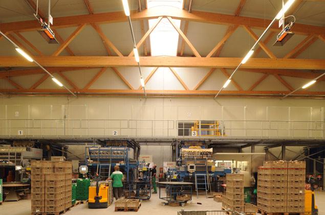 fenaco - Halle de stockage