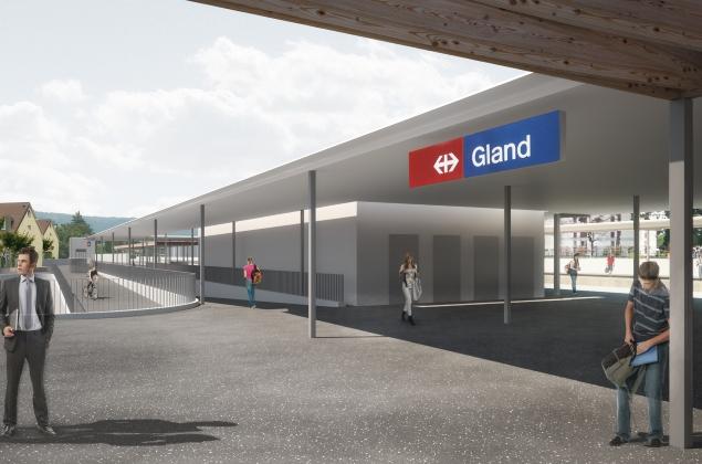 Gare Gland
